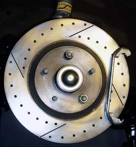 82-92 Thirdgen Camaro, Firebird (F-Body): C4 13-inch HD brake rotor installed