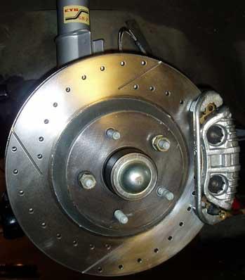 82-92 Thirdgen Camaro, Firebird (F-Body): Completed C4 HD 13-inch brake install (caliper and rotor)