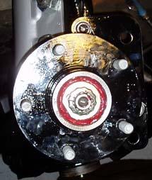 82-92 Thirdgen Camaro, Firebird (F-Body): Custom hub mounted on spindle