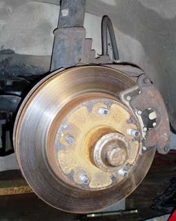 82-92 Thirdgen Camaro, Firebird (F-Body): Stock, Factory Front Brake Setup