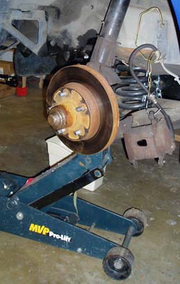 82-92 Thirdgen Camaro, Firebird (F-Body): Stock brake removal