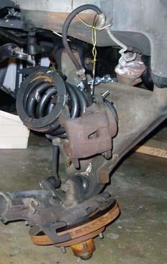 82-92 Thirdgen Camaro, Firebird (F-Body): Stock brake removal 2