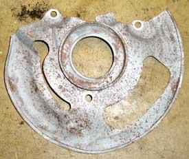 82-92 Thirdgen Camaro, Firebird (F-Body): Stock, Factory rotor sheild