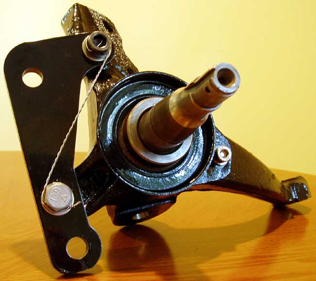 Third Gen  GM F-Body Brake Upgrade - Spindle Modification
