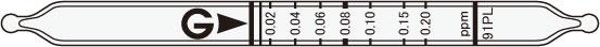 GASTEC 91PL formaldehyde test tube