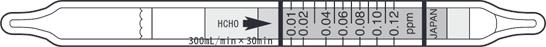 Kitagawa formaldehyde test tube 710