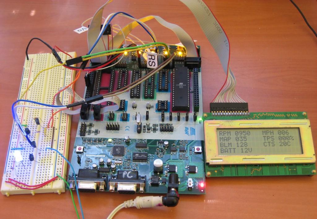 GM OBD-I (OBD1) ALDL Microcontroller LCD Interface, Scan Tool
