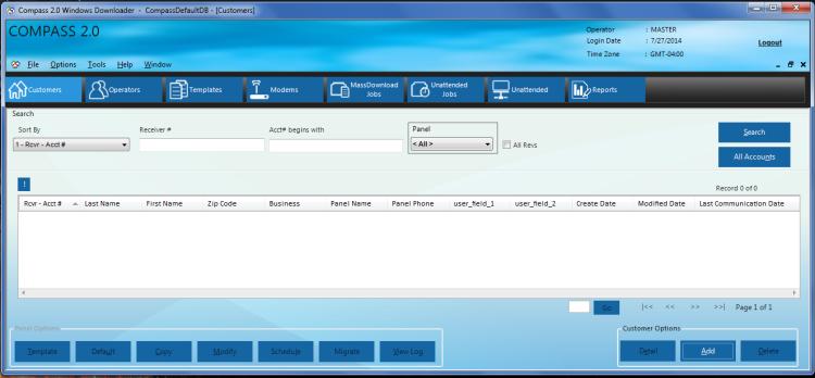 Honeywell Compass software - customer setup