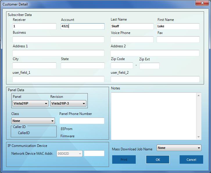 Honeywell Compass Software - Customer Account Setup