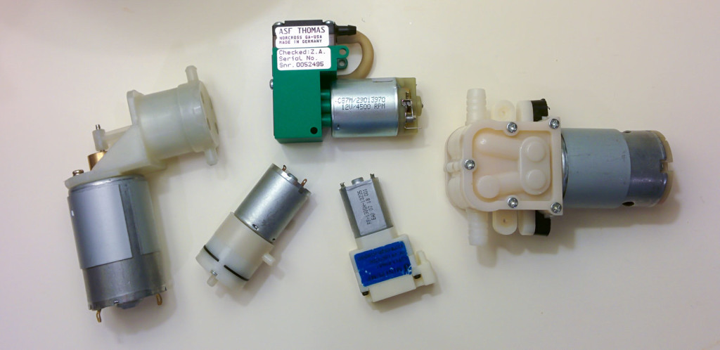 Micro Air Sampling Vacuum Pumps