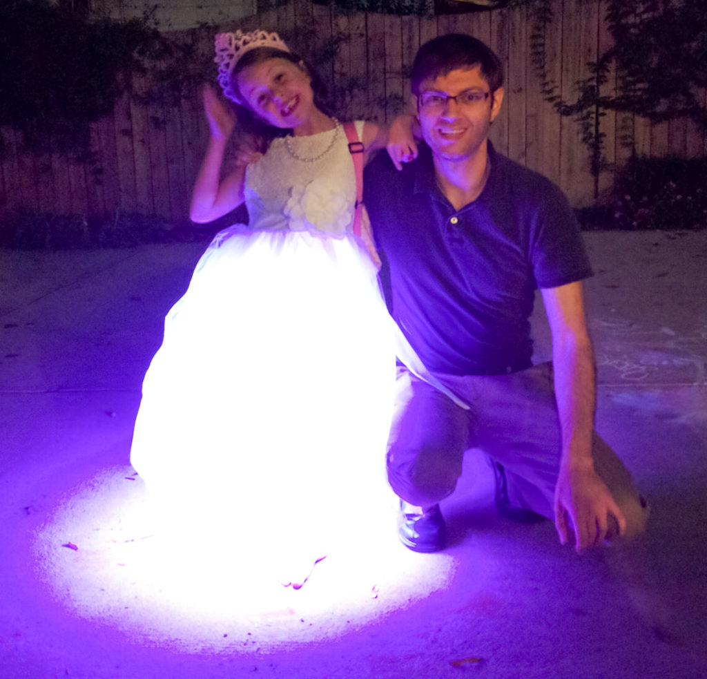 DIY Light-up LED Dress With Color Changing (RGB) LEDs
