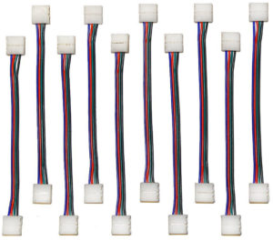 LED strip jumpers