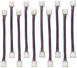 LED strip jumpers