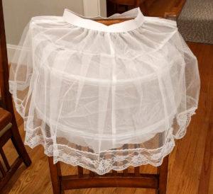 Unmodified petticoat / undershirt